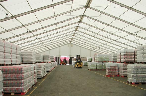 เต็นท์ ผ้าใบ - เต็นท์ warehouse - เต็นท์โกดังเก็บสินค้า (15)