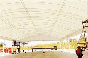 เต็นท์โกดัง เต็นเก็บสินค้า เต็นท์ Warehouse tent เต็นท์ขนาดใหญ่ 1