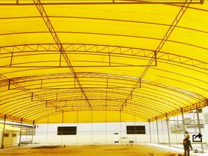 เต็นท์โกดัง เต็นเก็บสินค้า เต็นท์ Warehouse tent เต็นท์ขนาดใหญ่ 5